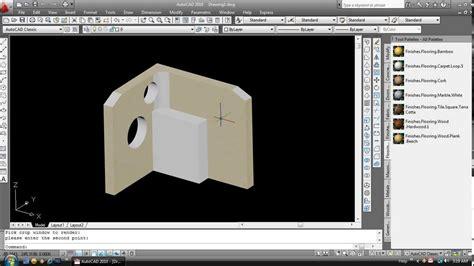 autocad tutorial youtube 2010 tutorial membuat 3d modeling dengan autocad 2010 youtube