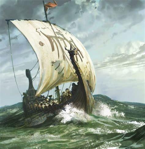 boat crashing drawing pin by artur guzina art on viking s ships life