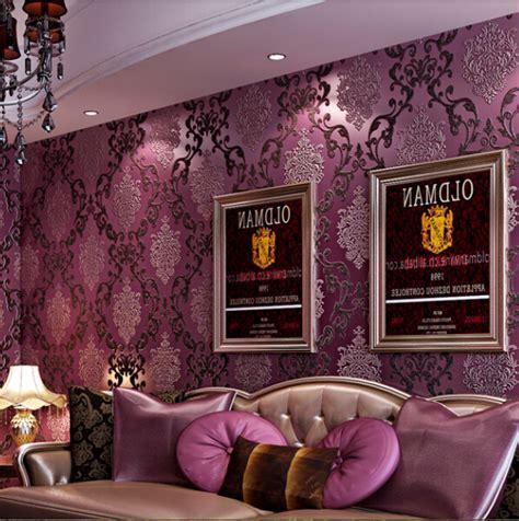 cr馥r chambre 3d europ 233 enne luxe violet 3d st 233 r 233 oscopique 233 pais non tiss 233
