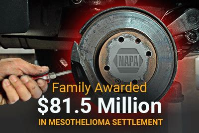 Mesothelioma Lawsuit Settlements 5 by Family Awarded 81 5 Million In Mesothelioma Settlement