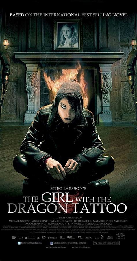 imdb the girl with the dragon tattoo the with the 2009 imdb