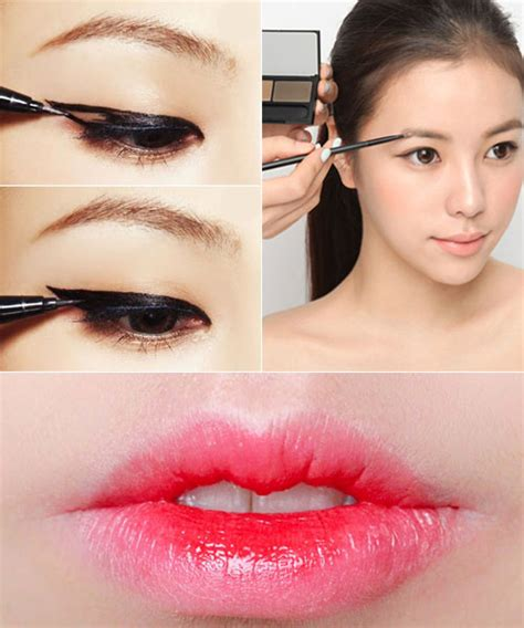 Eyeshadow Korea korean makeup tutorial and pictures yve style