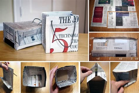 How To Make Paper Bags From Newspaper - sea shell crafts lovely ideas viral rang
