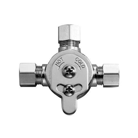 Mixing Valve Faucet by Sloan Mix60a 3326009 Optima Faucet Mixer Below Deck