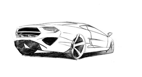 sports car drawing how to draw a sports car sports cars
