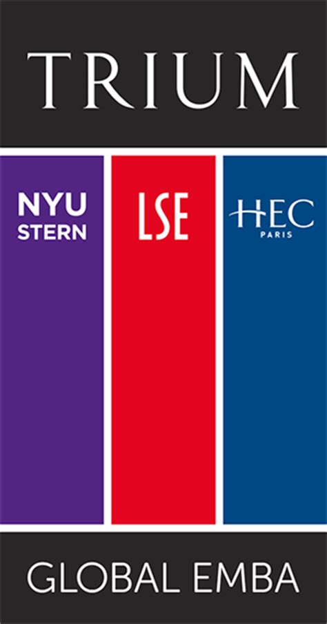Nyu Mba Application Fee by Trium Global Executive Mba