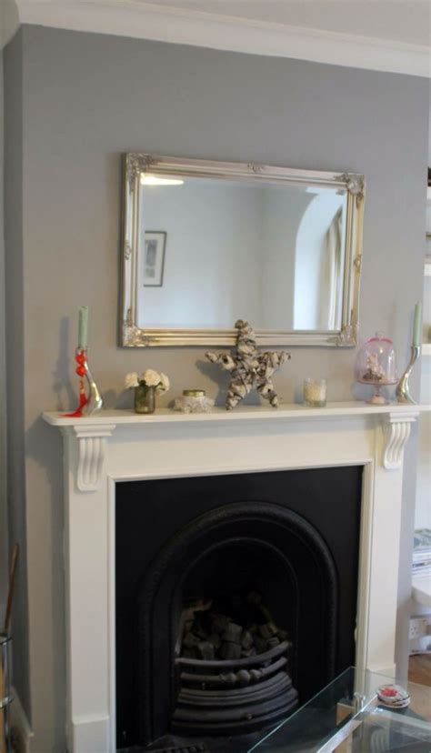 chimney breast in warm pewter dulux dulux pewter living rooms and room