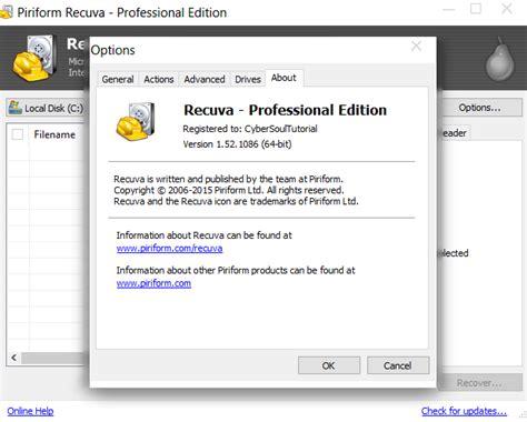 recuva software full version with crack free download recuva pro 1 53 1087 full version keygen cyber soul