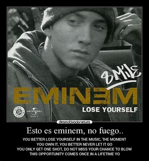 you better never let it go eminem esto es eminem no fuego desmotivaciones