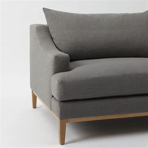 west elm montgomery sofa montgomery down filled sofa west elm