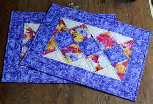 quilted floral placemats summer table mats