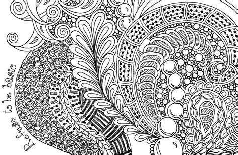 Drawing Zentangle by Simple Zentangle Coloring Pages
