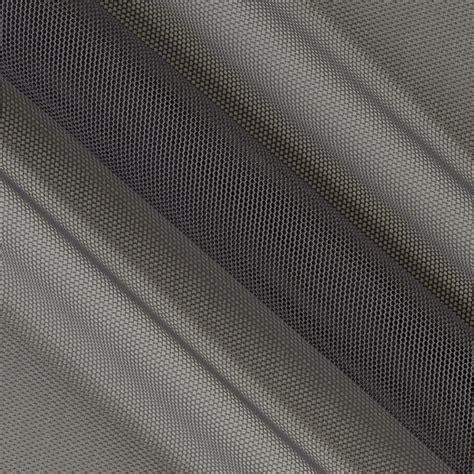grey mesh pattern telio stretch nylon mesh knit grey discount designer