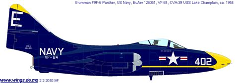 Lorjuk By Toko Roy 88 wings palette grumman f9f panther usa