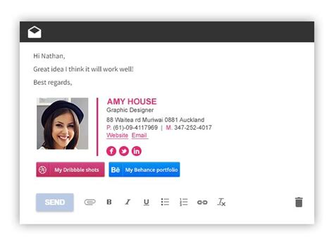 best free emai best 25 best email signatures ideas on email
