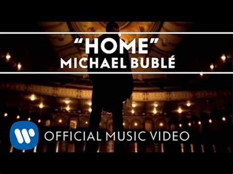 Michael Buble Home by Michael Bubl 233 Home Official Linkis