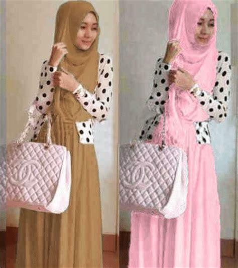 Gamis Maxy Pink Dress baju gamis remaja modern maxi shireen g 675 busana