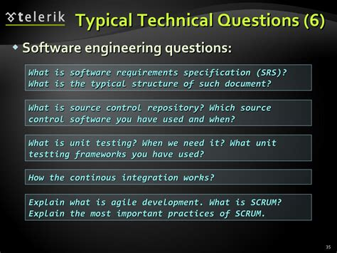 Typical Mba Questions Tech by Typical Technical Questions 6 Software