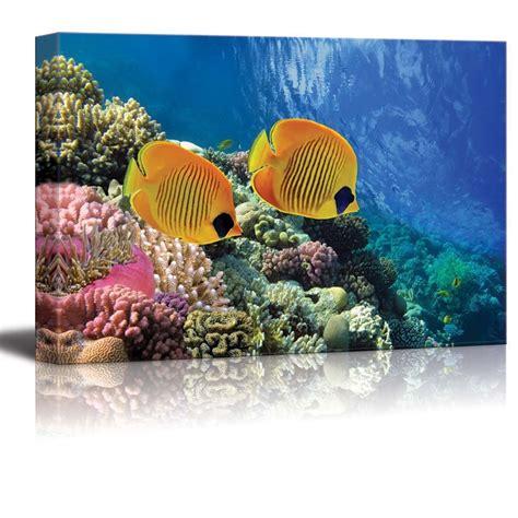 coral reef home decor wall26 com art prints framed art canvas prints