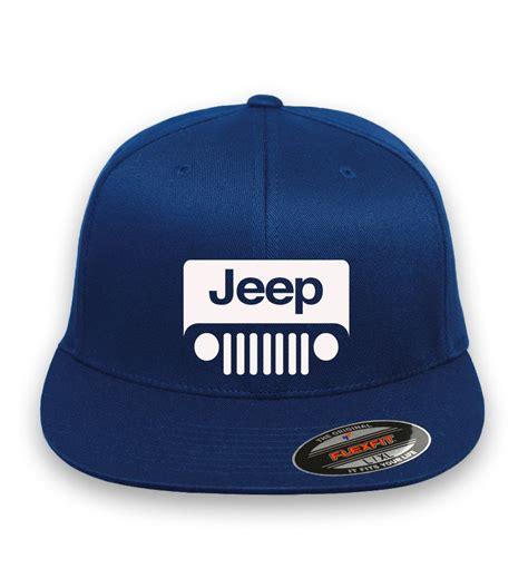 jeep hat jeep logo flex fit hat