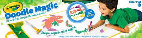 doodle magic how to use crayola doodle magic color mat toys