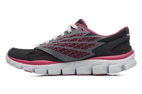 skechers go run sale skechers go run ride 13506 sport shoes in grey at sarenza