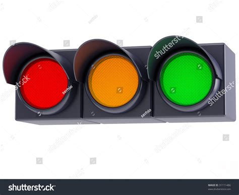 red and green light bulbs horizontal traffic lights red yellow green stock