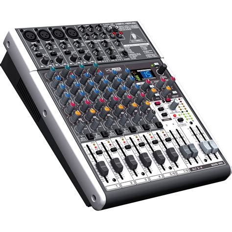 Mixer Audio Behringer 6 Channel behringer xenyx x1204usb 12 input usb audio mixer