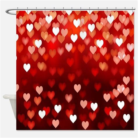 valentine shower curtain valentines day shower curtains valentines day fabric