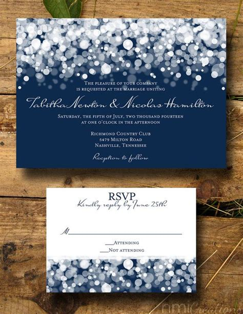 Wedding Invitation Templates Navy Blue Wedding Invitations Easytygermke Com Invitation Navy Blue Wedding Invitation Templates
