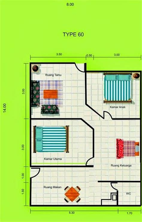 layout rumah type 60 1817 best images about floor plans on pinterest house