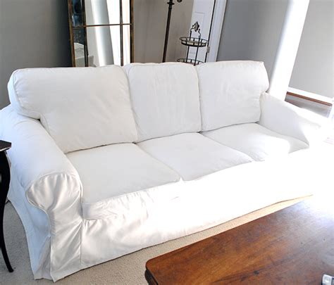 How To Make Slipcovers For how to easily remove wrinkles from ikea slipcovers the graphics