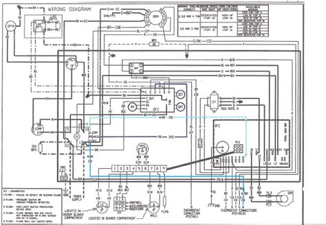 comfortmaker heat wiring diagram schematic