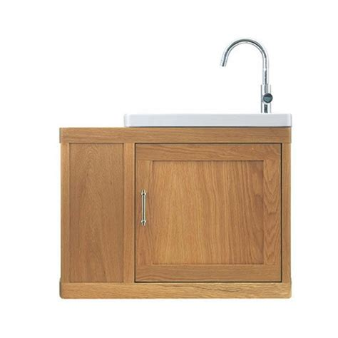 thurlestone traditional cloak offset bathroom vanity unit