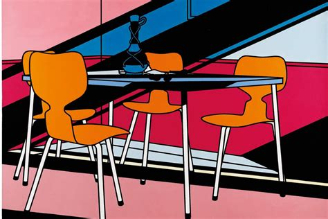 Better Home Interiors by Patrick Caulfield Gary Hume Tate Britain Exhibition