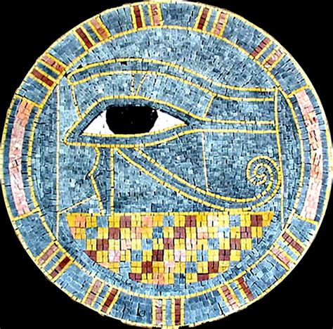 mosaic pattern in eye agape tile eye of ra egyptian stone mosaic medallion 40