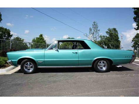 pontiac 1965 gto 1965 pontiac gto for sale classiccars cc 643294