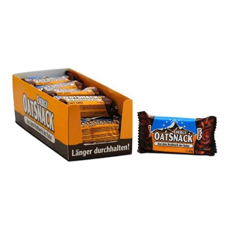 65 g carbohydrates order energy oatsnack chocolate bars from the experts at nu3