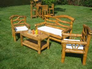 salon de jardin en bambou matahari www laventerapide