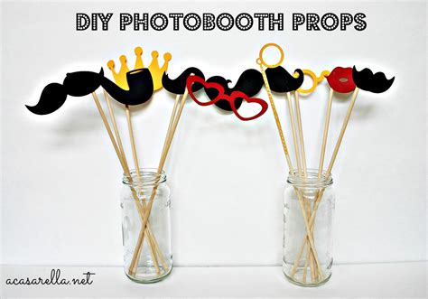diy photo booth props templates