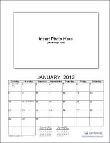 printable photo calendar template photo calendar template create a printable photo calendar