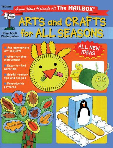 arts and crafts books for arts and crafts for all seasons how to books