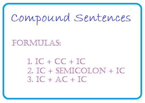 sentence pattern formula sentence patterns english sentences