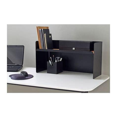 bekant desktop shelf black ikea width 23 5 8 quot depth