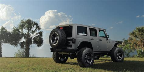jeep road wheels wrangler on grid road wheels