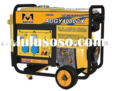 home use rainproof portable diesel power generators 2kw
