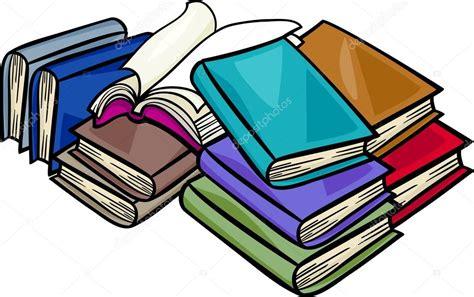 inicio libros de dibujos animados vector de stock mont 243 n de libros de dibujos animados ilustraci 243 n vector