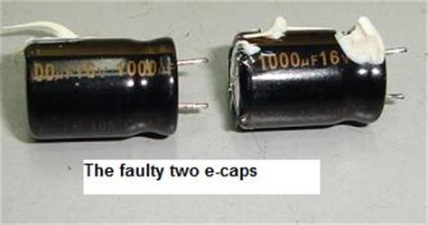 filter capacitor problem faulty filter capacitor 28 images 17 best images about vsm repair on vintage and sewing