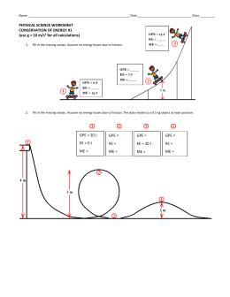 Potential And Kinetic Energy Roller Coaster Worksheet collection of kinetic energy roller coaster worksheet