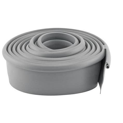 prime line 10 ft gray vinyl garage door bottom seal gd